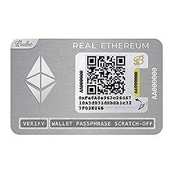 Ballet Real Ethereum (ETH) - Physisches Wallet mit Unterstützung für mehrere Kryptowährungen, Die einfachste Cold…