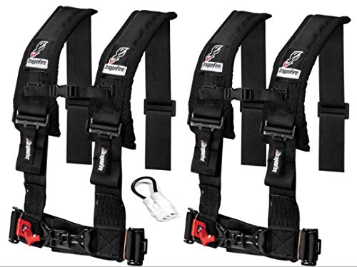 Set of 2 Dragonfire Racing 4-Point Harness 3