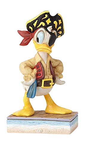 Jim Shore Disney Traditions by Enesco Donald Pirate Figurine