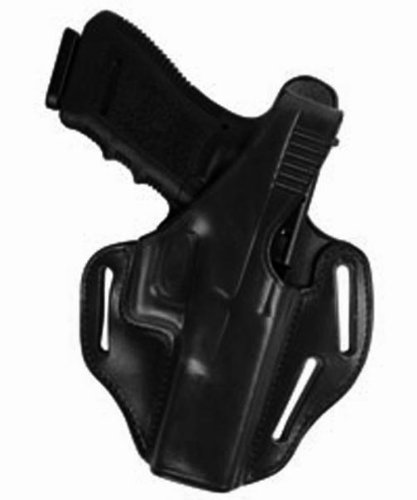 Bianchi 77 Piranha Size 11 Holster Fits Glock 19/23 (Black, Right Hand) by Bianchi
