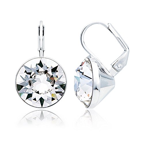 347293fb7 MYJS Bella Statement Earrings Clear Swarovski Crystal for sale Delivered  anywhere in USA