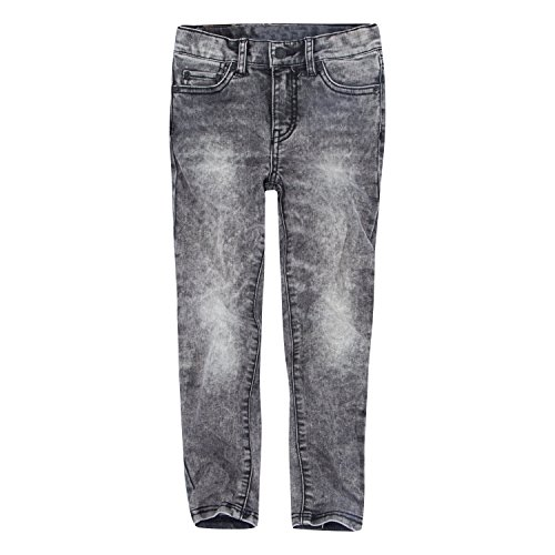 Levi's Girls' Big 710 Super Skinny Fit Jeans, Smoke