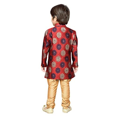 41YdwZ1lyEL. SS500  - AJ Dezines Kids Festive Sherwani for Boys