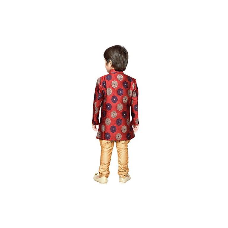 41YdwZ1lyEL. SS768  - AJ Dezines Kids Festive Sherwani for Boys