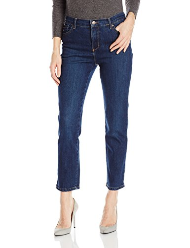 Gloria Vanderbilt Women's Petite Amanda Classic Tapered Jean, Scottsdale Wash, 16P Short
