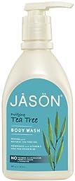 JASON Tea Tree Body Wash, 30 Oz (Packaging May Vary)