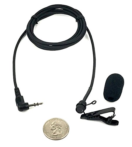 Sound Professionals Premium Ultra-high sensitivity Court Reporter microphone for Steno Machine and computer microphone inputs - includes clip and windscreen - item #25-15202 by Sound Professionals