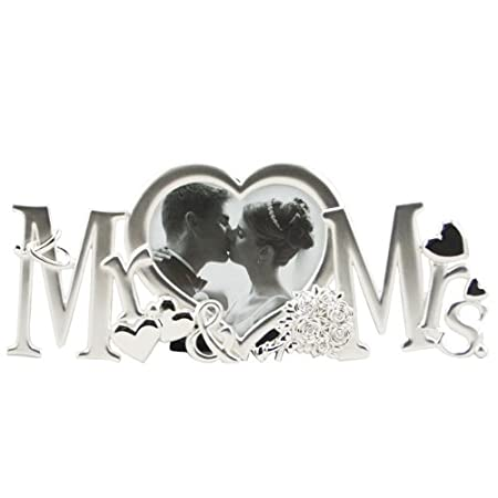 Mr And Mrs Photo Frame By Photo Frames Amazoncouk Kitchen Home