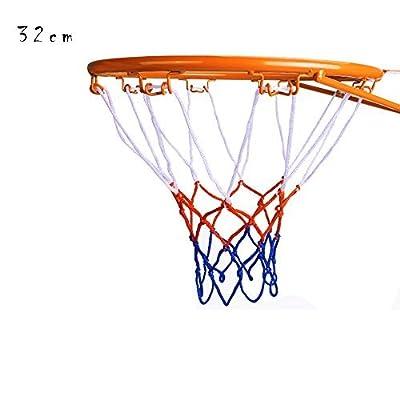 Kids Basketball Hoop, Dream Travel Basketball Rim Goal Wall Mounted Basketball Hoop Indoor Outdoor Hanging Basketball Hoop, 32cm