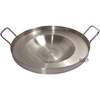 Amazon.com: Large Mexican Style Wok Comal Cazo Griddle Fryer ...