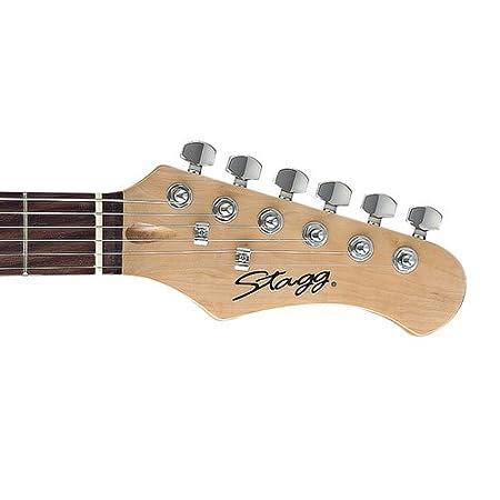 Stagg S300 RDS-guitarra eléctrica estándar S explosión del rojo: Amazon.es: Instrumentos musicales