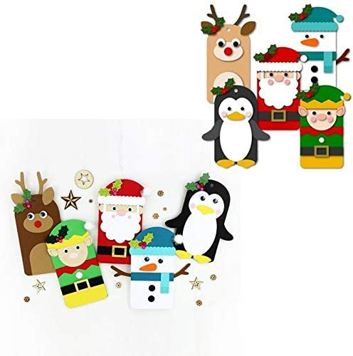 Amazon.com: Xmas Family Gather! Metal Cutting Dies Xmas Deer Snowmen Santa Penguin Elf Die Cut For Card Making DIY New 2019 Crafts Cards: Home Improvement