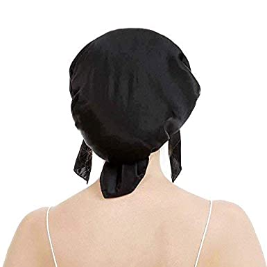 OROPY Emmet Cuffia da Notte per Capelli Donna 100/% Seta Dormire Berretto Beanie Cappellino in Seta Elastico Bellezza Copertura dei Capelli
