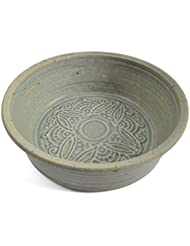 The Potters, LTD 7-inch Pie Plate Baking Dish, Soft Green
