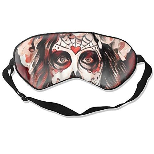 3D Sleep Mask,Dead Angela Eye Mask Custom Funny Design, Super Smooth Memory Foam, Maximum Light Blocking & Adjustable Strap