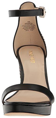 Natural Dempsey West Sandals Leather Black Nine Black Fashion Women's Cx1qqYwa