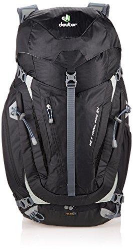 Deuter ACT Trail Pro 34 - Ultralight 34-Liter Hiking Backpack, Black -  344111570000