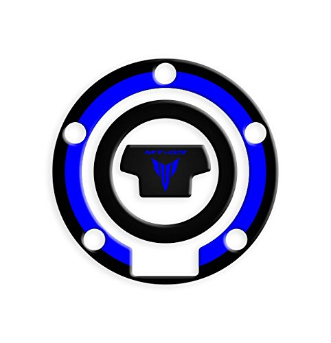 Tankdeckel-Schutzaufkleber, Yamaha MT-09 | Yamaha-Tankschutzaufkleber GP-365 Neon Totalstickers3D