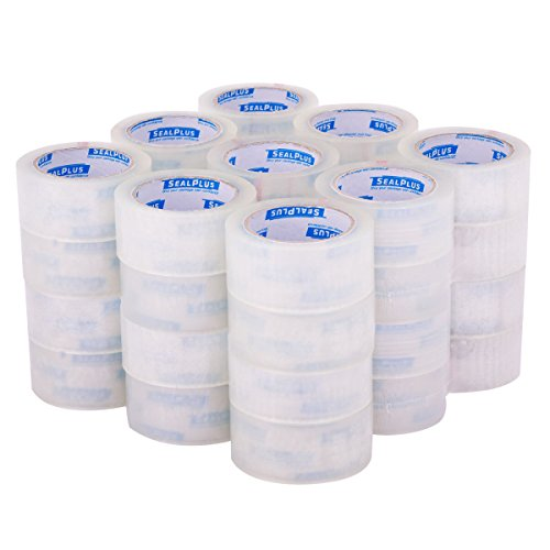 "Tangkula Packing Package Tape 2""x110 Yards(330' ft) Box Carton Sealing Tape Clear (36) from Tangkula"