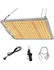 1000W LED Grow Light Sunlike Full Spectrum Plant Light for Indoor Plants Greenhouse Seeding Veg Bloom with 218PCS Samsung LM301B LEDs Hydroponic Led Growing Lamps with Hanger