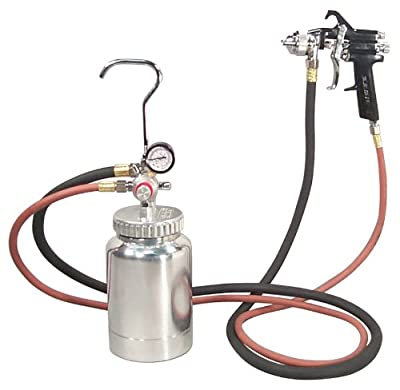 Astro 2PG7S 2 Quart Pressure Pot with Gun and Hose Paint and Body Spray Guns from Astro Pneumatic Tool Company
