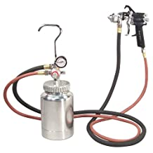 Astro Pneumatic 2PG7S 2 Quart Pressure Pot with Gun and Hose Paint and Body Spray Guns