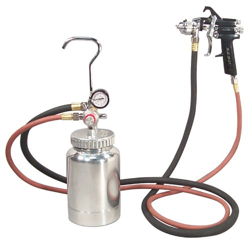 (Astro 2PG7S 2 Quart Pressure Pot with Gun and Hose Paint and Body Spray Guns)