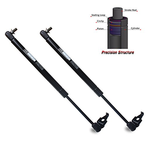 (Beneges 2PCs Front Hood Struts Compatible with 1997-2001 Lexus ES300, 1997-2001 Toyota Camry Gas Spring Charged Lift Supports Shocks Dampers 4547, 5344039155, SG329017)