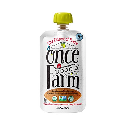 UPC 852823006116, Once Upon A Farm The Fairest Of Pears, 3.5 Ounce (Pack of 8)