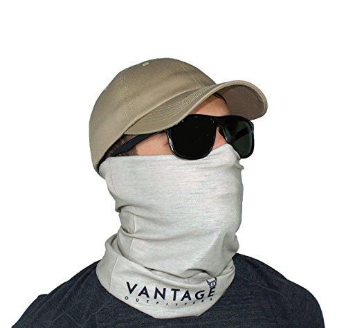 Sun uv fishing face mask bandana neck gaiter buff wind for Neck gaiter fishing