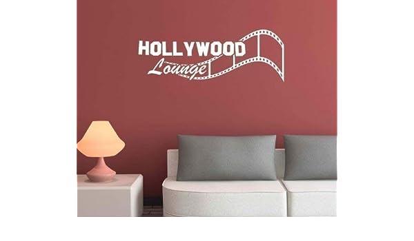 Hollywood Lounge Kino Tatuaje de pared calcomanía de pared cámara ...