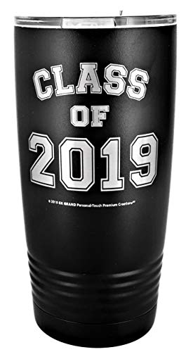 GRADUATE CLASS OF 2019 GIFT - Black Engraved