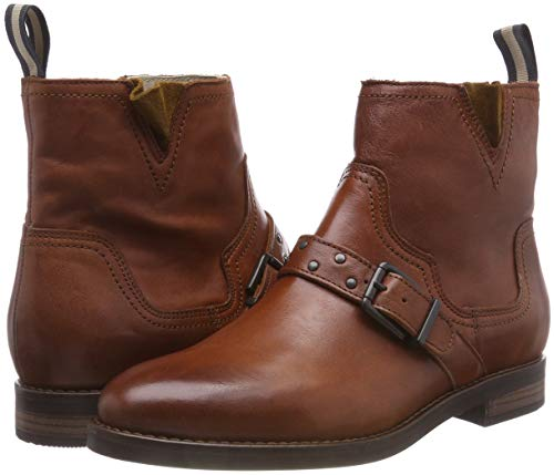 cognac O'polo Mujer Bootie Braun 720 Para Botines Marc YIqdwTY