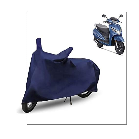 FABTEC Scooty/Scooter Cover for Honda Activa 125 (Blue)