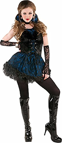 Teen Girls Midnight Vampire Costume - (Midnight Vampire Costume Child)