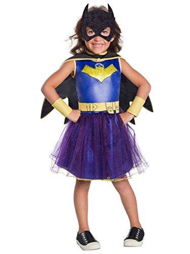 - 41Ye0aQn4bL - Rubie's Costume Girls DC Comics Deluxe Batgirl Costume