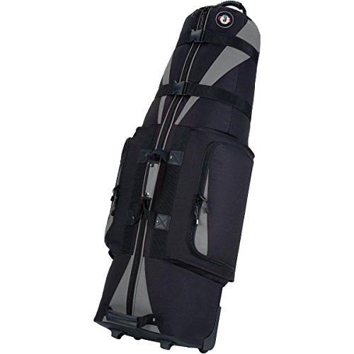 Golf Travel Bags Unisex Caravan 3.0 Bag, Black with Slate Trim