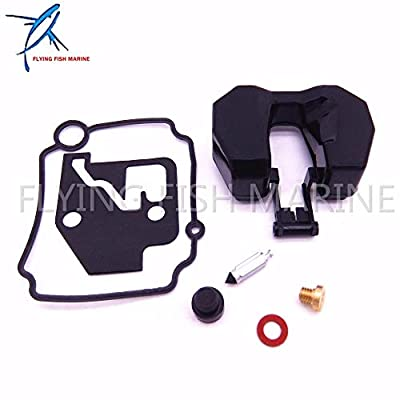 Boat Parts & Accessories 66M-W0093-01-00 66M-W0093-00 Boat Motor Carburetor Repair Kit for Yamaha 4-Stroke 15Hp F15 Outboard Engine