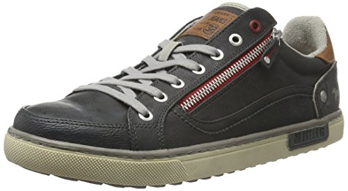 Mustang Men's 4080-305 Low-Top Sneakers, Grey (259 Graphite) Grey (Graphit 259)