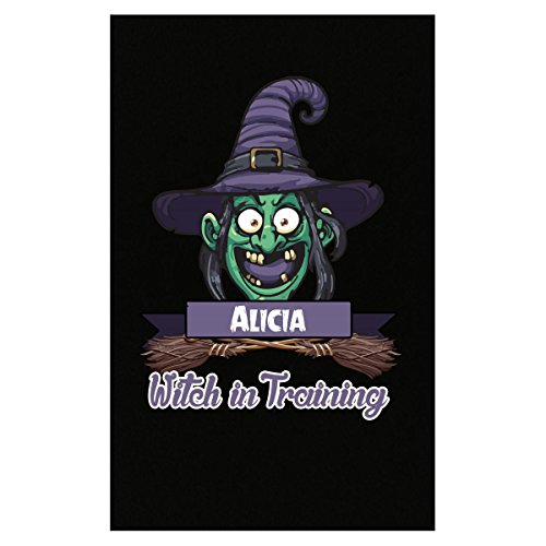 Halloween Costume T Shirt For Kids Alicia Witch In Training Funny Halloween Gift - Poster