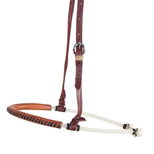 Teskey's Single Rope Leather Noseband (Light Oil)