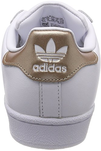 Cyber White Low WoMen 0 Top Footwear White Superstar adidas Footwear White Metallic Sneakers fPqxC8w6