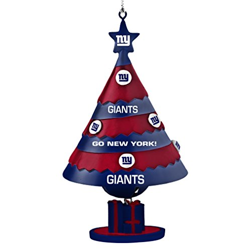 NFL New York Giants Tree Bell Ornament