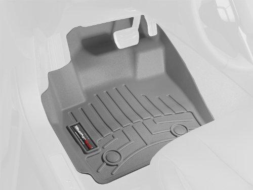 WeatherTech 465211 FloorLiner, Front, (Gray Front Floor Liner)