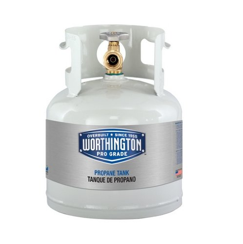(Worthington 281149 1-Gallon Steel Propane Cylinder With Type 1 With Overflow Prevention Device Valve)