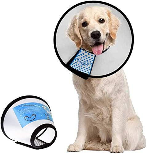 Supet-Dog-Cone-Adjustable-Pet-Cone-Pet-Recovery-Collar-Comfy-Pet-Cone-Collar