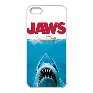 iPhone 5 5s Cell Phone Case White Jaws 001 WON6189218979873