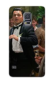 Galaxy S5 Case, Premium Protective Case With Awesome Look - The Wolf Of Wallstreet Biography Comedy Dramahs