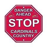 St Louis Cardinals Stop Sign