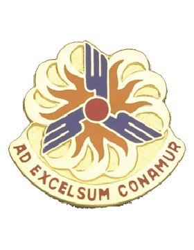 12th Crest Ad Conamur Unit Bde Excelsum Aviation ZFrRZ